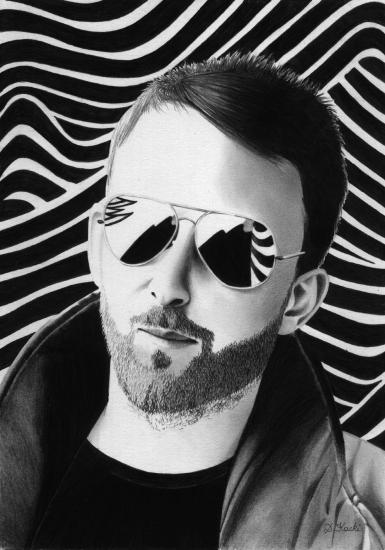 Thom Yorke par DelphineK